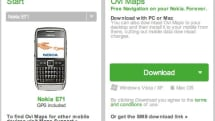 Nokia E71 and E66 owners get free Ovi Maps navigation
