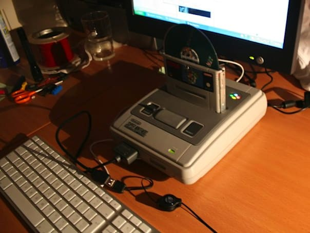 SNES PC Case Mod scores endless style wins; can never bring back your childhood