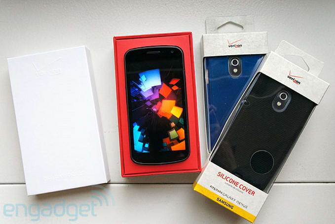 Galaxy Nexus for Verizon LTE unboxing and speed test (video)