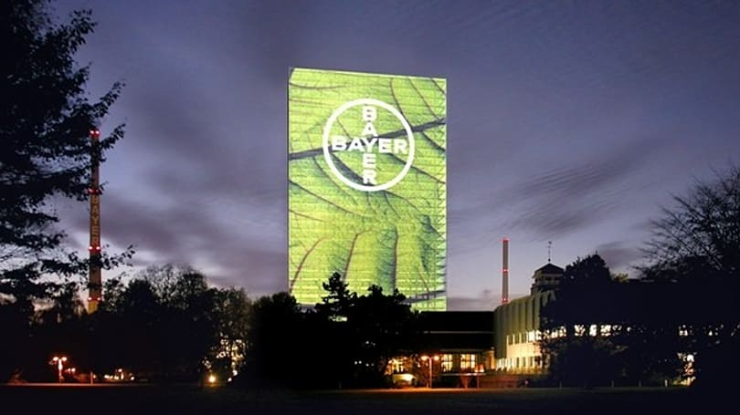 Bayer's 'Media Facade' redefines building-vertising