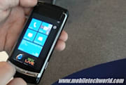 Windows Phone 7 pops up on a Samsung prototype device, plays Twin Blades