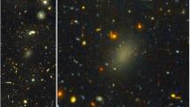 99.99%暗黒物質で作られる銀河Dragonfly 44発見。質量は天の川銀河と同等、恒星の数は1/100