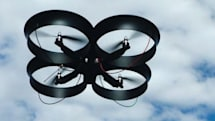 Cyber Technology's UAV perches, stares, makes us a little uncomfortable (Update: now with video!)