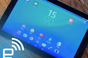 Sony Xperia Z4 Tablet Hands-on