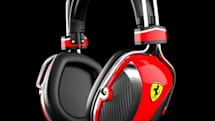 Ferrari, Logic3 team on headphones, may be closest we get to an Enzo's engine note