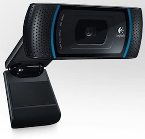 Logitech's HD Pro Webcam C910 now ready for Photo Booth, iChat and FaceTime