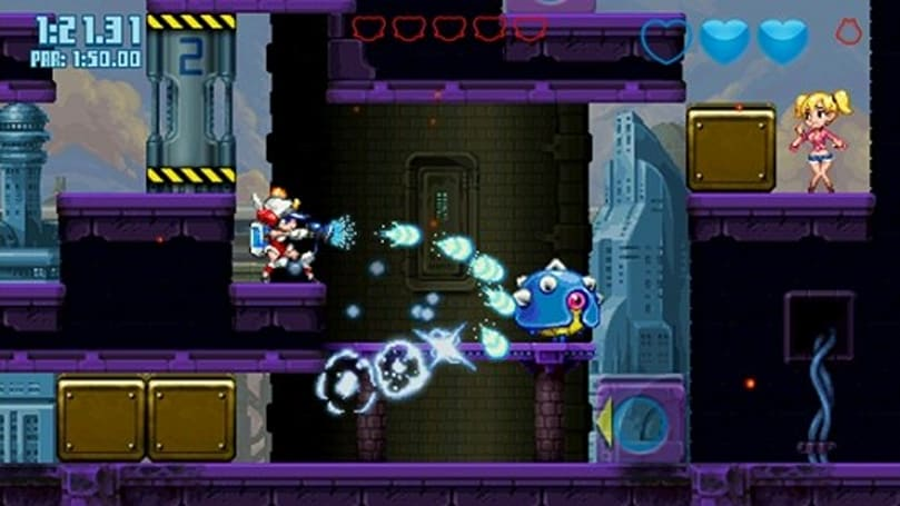 Mighty Switch Force 2 cannons onto Wii U tomorrow