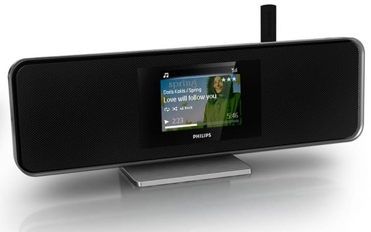 Philips entertains your home with new Network Music Players