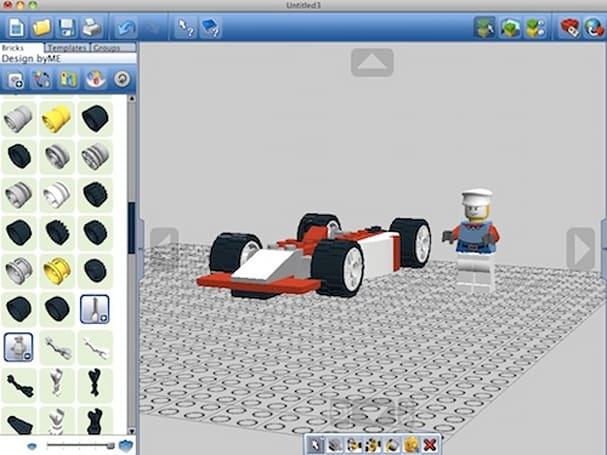 Build customized LEGO packs with LEGO Digital Designer