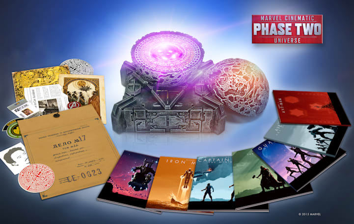 Marvel's new Cinematic Universe Blu-ray set is up for pre-order