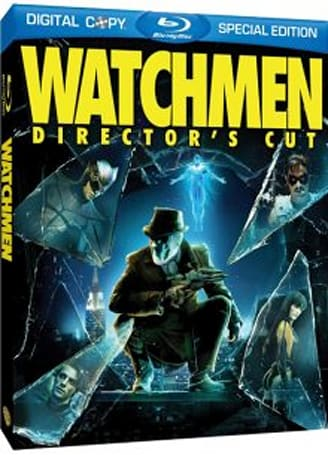 Watchmen movie / game Blu-ray combo on the way