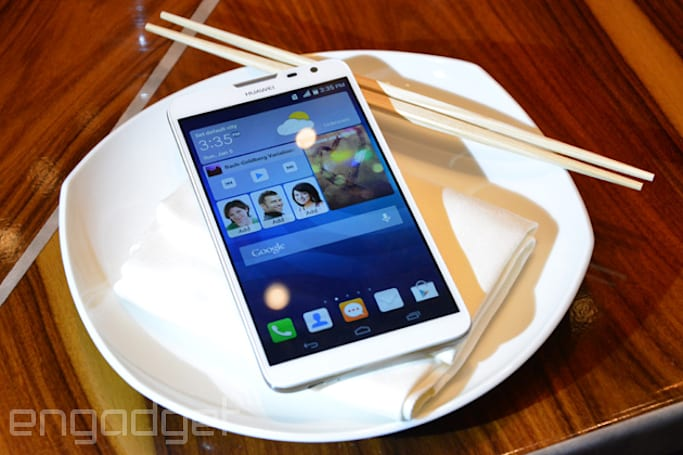 Huawei's big Ascend Mate 2 4G can charge up your iPhone, coming to the US