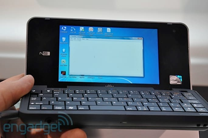 Viliv N5 MID hands-on, HD5 PMP makes a cameo