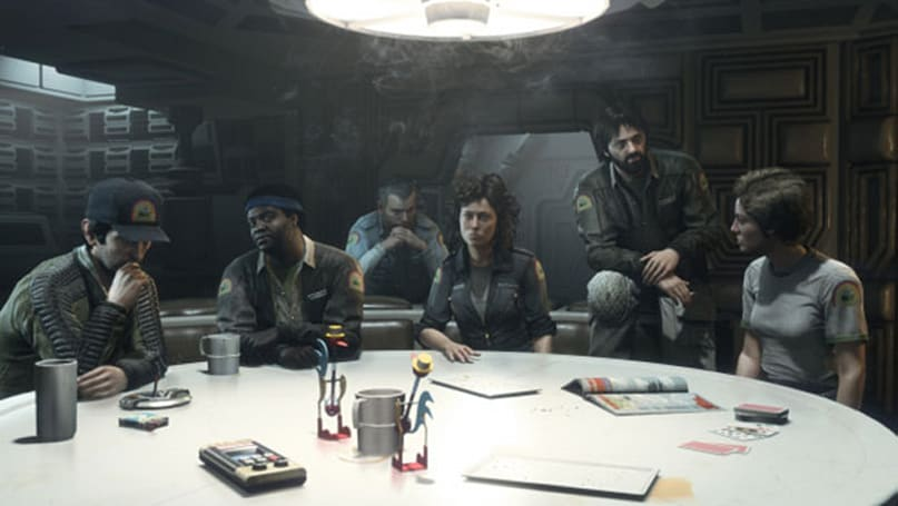 Sigourney Weaver joins original cast for 'Alien: Isolation' DLC