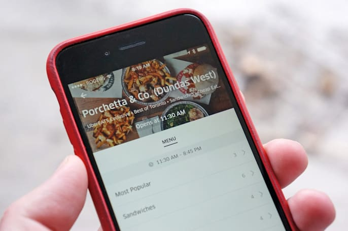 UberEats is coming to 10 more towns