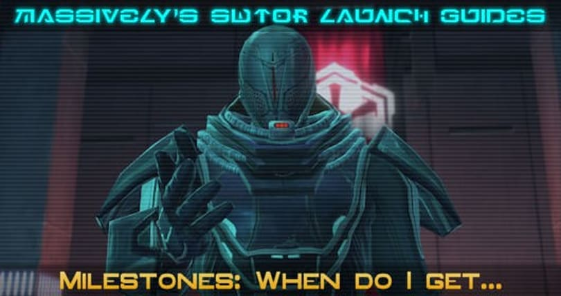SWTOR: When do I get...?