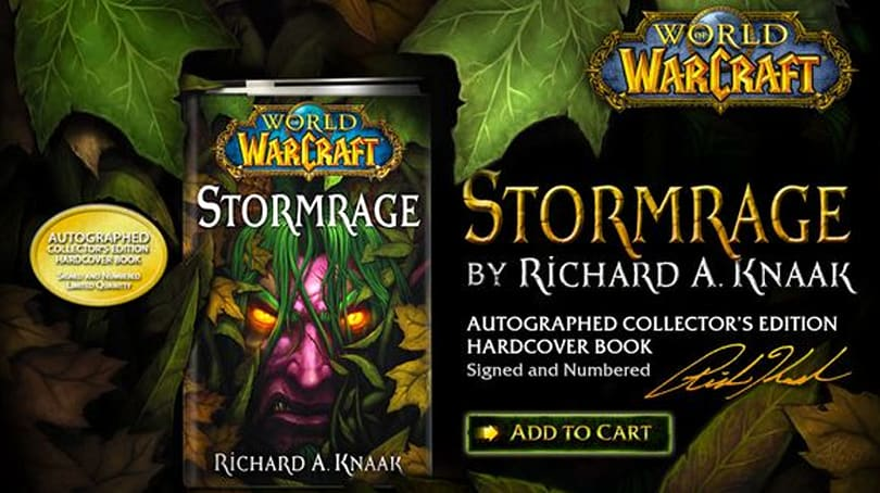 WoW.com reviews Richard A. Knaak's Stormrage