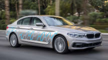 BMW、自動運転と自動駐車が可能な「5シリーズ」のプロトタイプをCESで公開!