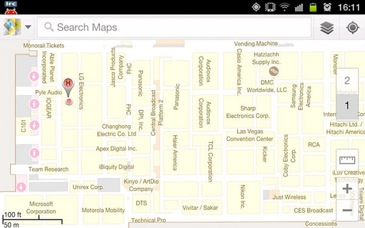 Google Maps indoor navigation: yeah, it works at CES