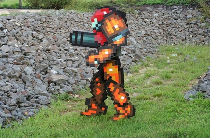 This retro Metroid cosplay is without equal