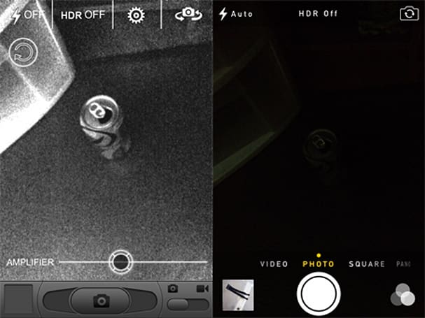 Night Vision Camcorder offers low-light iOS video capture, sleazy marketing