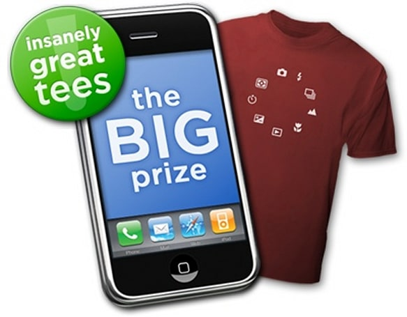 Insanely Great Tees Announces iPhone Ad Contest
