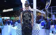 Intel's conceptual Adrenaline Dress gets upset when you do