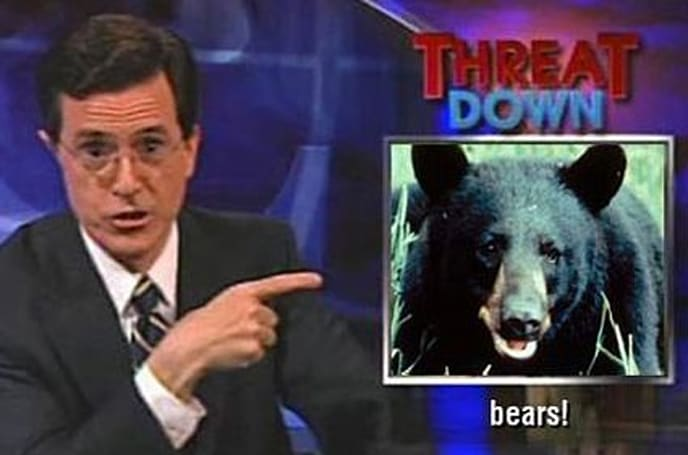 Threat up with bears