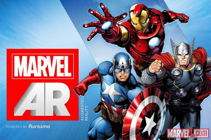 Marvel announces augmented reality app, exclusive digital comics at SXSW