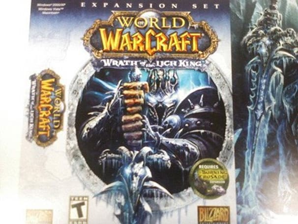 Rumor: Wrath of the Lich King box revealed