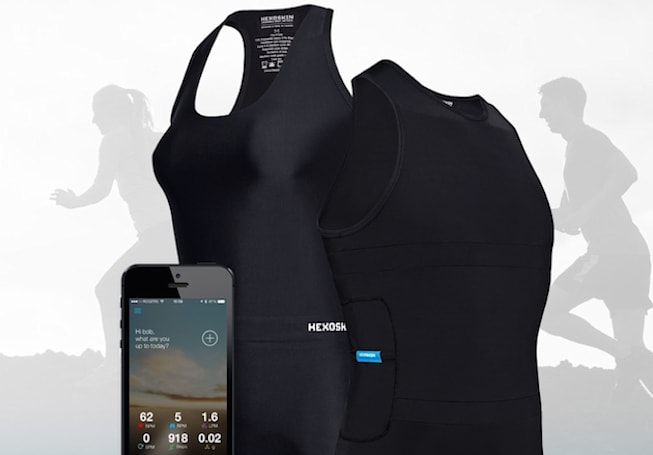 Hexoskin's new wearable is a smart shirt for exercise buffs