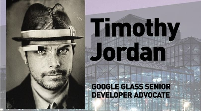 Live from Expand: Google Glass Senior Developer Advocate Timothy Jordan