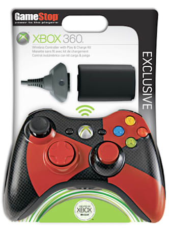 Exclusive two-tone Xbox 360 Play and Charge kit coming to GameStop