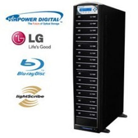 Vinpower launches newest 8x LightScribe packing Blu-ray duplicators