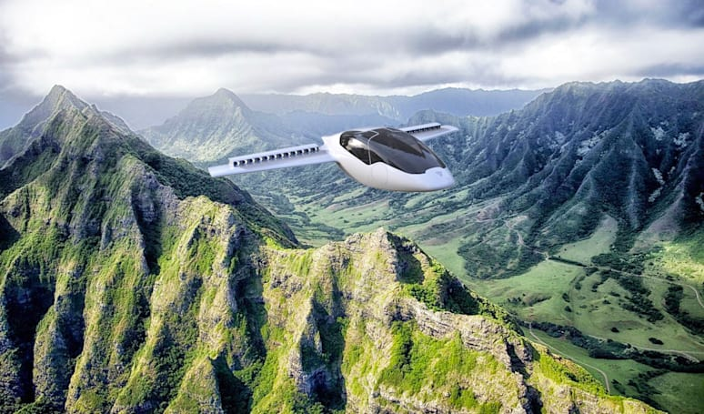 Personal electric plane won't need an airport