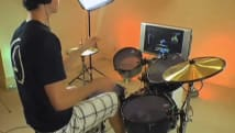GM-1 connects real drums to Guitar Hero, Rock Band
