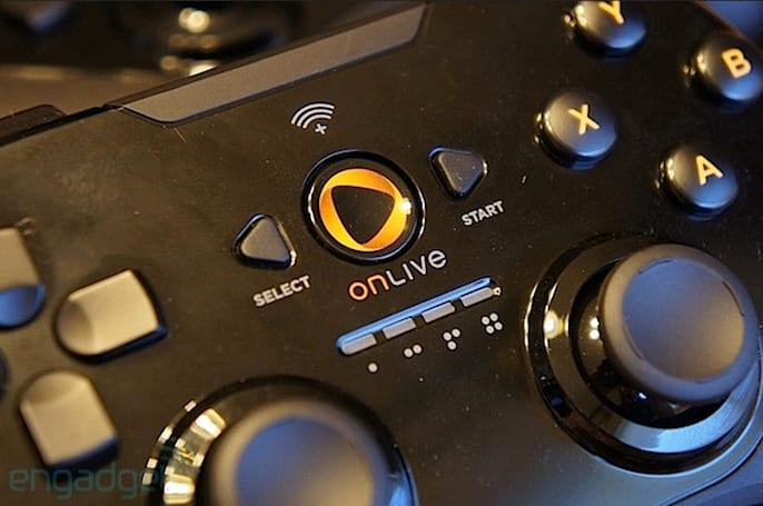 OnLive says support for Universal Controller on Nexus 7 is coming 'shortly'