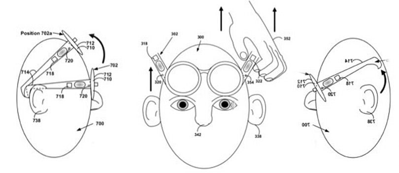 Google patents Project Glass motion-based theft detection, locks up if it feels 'unnatural' movement