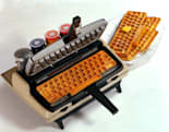 Keyboard waffle iron cooks up your favorite peripheral