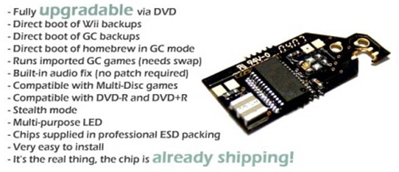 TeamCyclops announces DVD upgradability for CycloWiz modchip