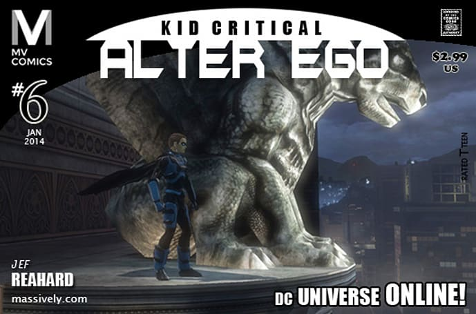 Alter Ego: Issue #6 - Gargoyles' Gaze