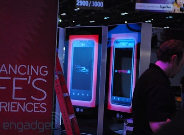 LG's T-Mobile G2x spied at CTIA