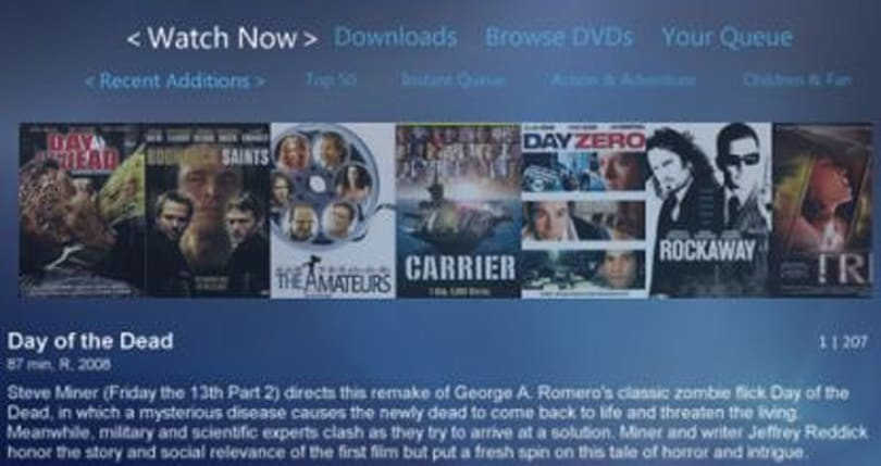Why wait? Application allows Netflix to Xbox 360 streaming