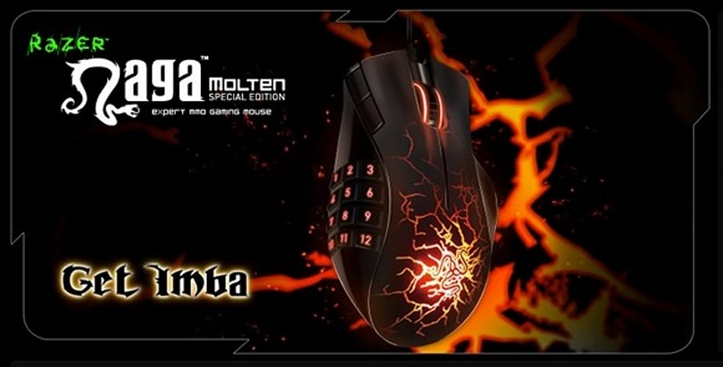 12 Days of Winter Veil Giveaway Day 4: Razer Naga Molten gaming mouse