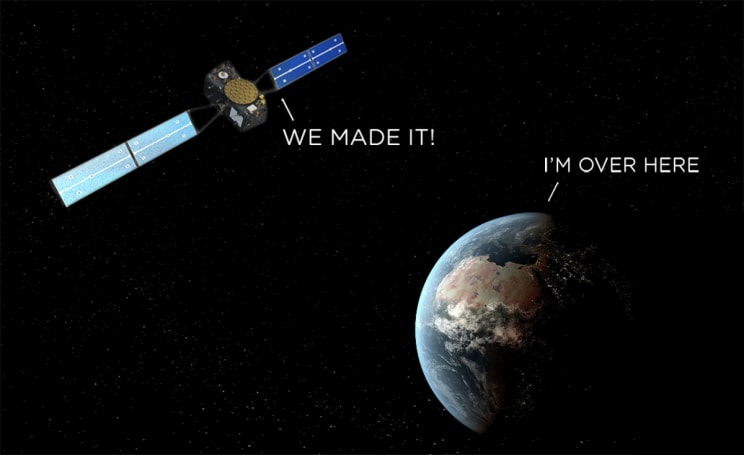 Researchers use satellite launch blunder to test relativity