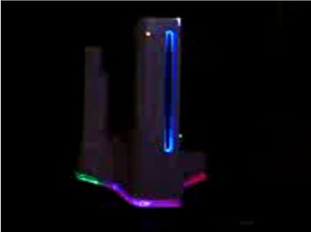 Wii LED stand mod gets more colorful