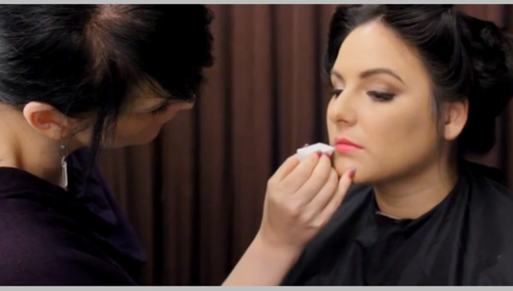 Go inside the HuffPost Live makeup room: bold lips