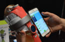The water bottle of the future has a built-in screen