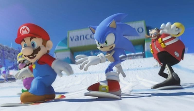 Mario, meet Sonic (at the Winter Olympics)