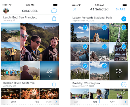 Dropbox launches Carousel and expands Dropbox for Business